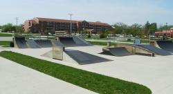 Daniel Barry Memorial Skate Park ramps